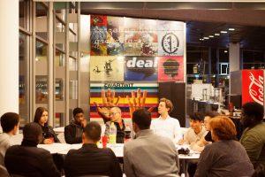 PvdA debat met jongeren