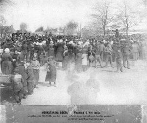 Veenopstand in 1890 te Nij Beets
