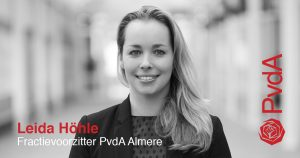Leida Höhle Fractievoorzitter PvdA Almere