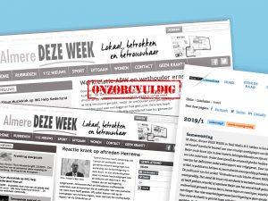 Raad van de Journalistiek: Berichtgeving van Almere Deze Week rond Tjeerd Herrema is onzorgvuldig